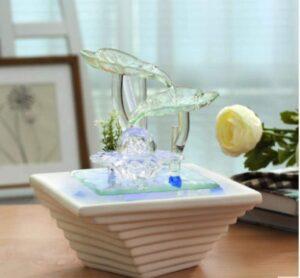 Fontaine Cascade en céramique