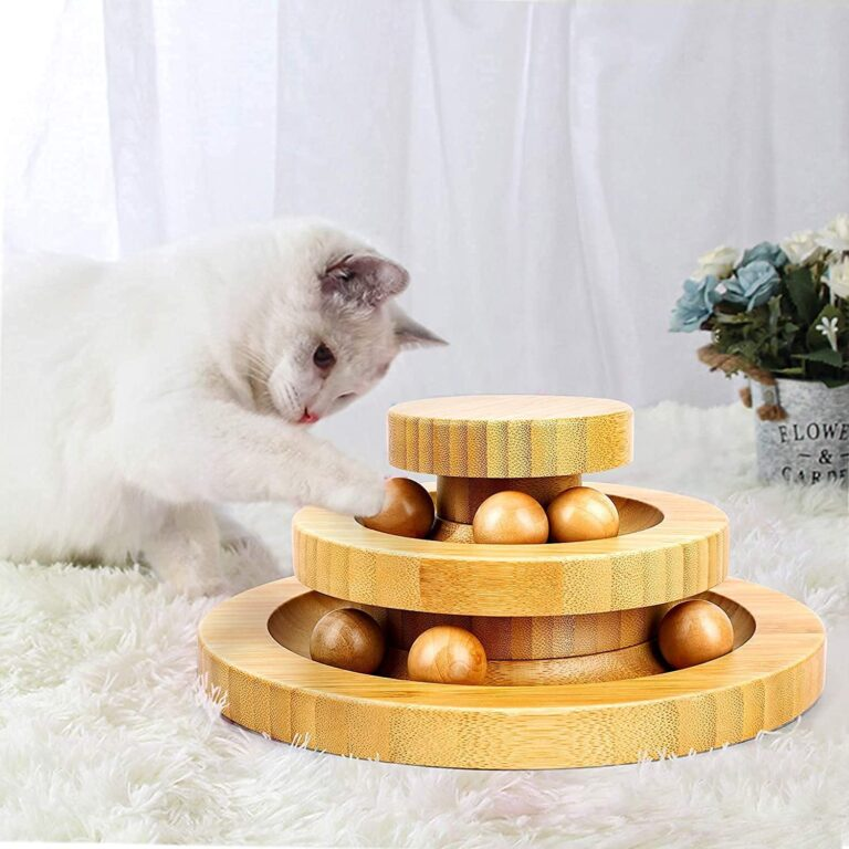 Jouet en bois pour Chats
